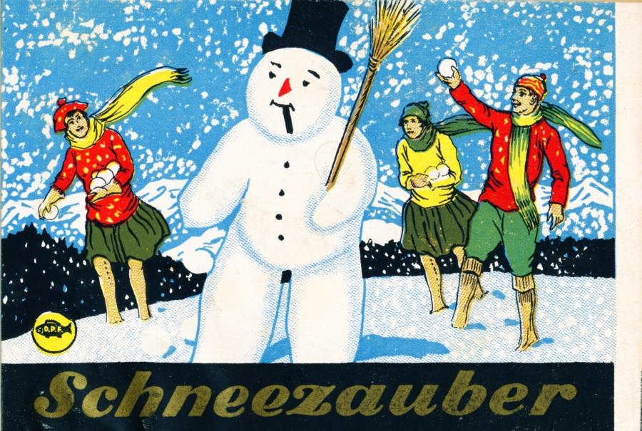 Depyfag Schneezauber Label